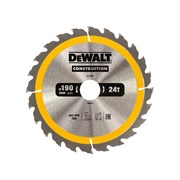 DEWALT Construction Circular Saw Blades 190mm