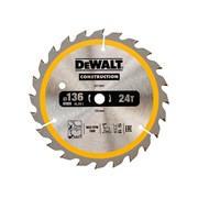 DEWALT Construction Trim Saw Blades 136 x 10mm