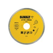 DEWALT Diamond Tile Blade 110mm x 20mm