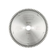DEWALT Circular Saw Blade 250 x 30mm x 80T Series 40 Extra Fine Finish