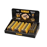 DEWALT Display of 21 Extreme PZ2 x 25mm Tic Tac Box with 21 Magnetic Holders