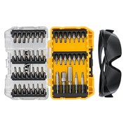 DEWALT DT70704 Screwdriving Set, 47 Piece + Safety Glasses