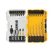 "DEWALT DT70735T FLEXTORQâ""¢ Drill Drive Set, 25 Piece"