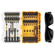 "DEWALT DT70740T FLEXTORQâ""¢ Screwdriving Set 38 Piece + Safety Glasses"