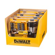 DEWALT 4 x Mixed Drill/Screwdriver Bit Set, 26 Piece + Thermal Travel Mug