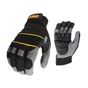DEWALT Power Tool Gel Gloves Black / Grey DPG33L