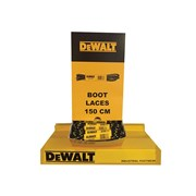DEWALT Polyester/Cotton 150cm Boot Laces In Dispenser (60 Pairs)