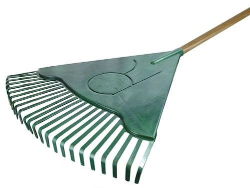 Faithfull Countryman Leaf Rake Plastic Head
