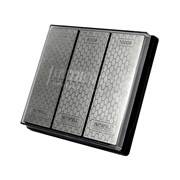 Faithfull Diamond Whetstone Kit, 3 Piece