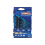 Faithfull HSS Drill Sets - Imperial