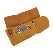 Faithfull Tool Roll 10 Pocket Leather