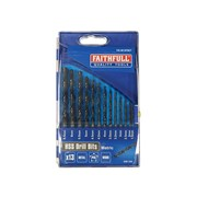 Faithfull HSS Drill Sets - Metric