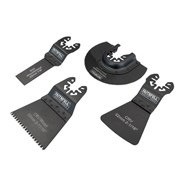 Faithfull Multi-Function Tool Flooring Blade Set of 4