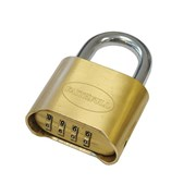 Faithfull Brass Combination Padlock