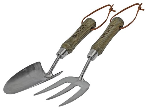Faithfull Prestige Stainless Steel Hand Tool Set, 2 Piece Display Box