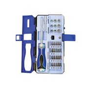 Faithfull Ratchet Screwdriver & Socket Set 33 Piece