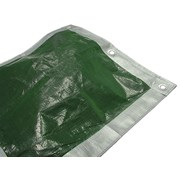 Faithfull Tarpaulins Green / Silver