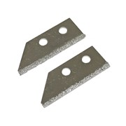 Faithfull Replacement Carbide Blades For FAITLGROUSAW Grout Rake (Pack of 2)