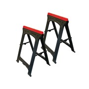 Plastic Trestles Height 82cm x Length 57cm (Twin Pack)