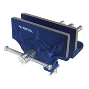 Faithfull Home Woodwork Vice 150mm (6in) & Integrated Clamp