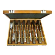 Faithfull Woodcarving Set in Case Set of 12