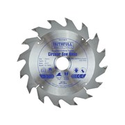 Faithfull Circular Saw Blade 140 x 20mm x 16T Fast Rip