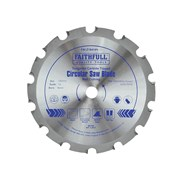 Faithfull Circular Saw Blades 184mm Nail