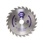 Faithfull Circular Saw Blade 200 x 16/25/30mm x 24T Fast Rip