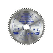 Faithfull Circular Saw Blade 216 x 30mm x 60T NEG