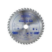 Faithfull Circular Saw Blade 250 x 30mm x 40T Anti Kick