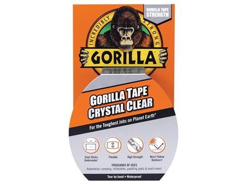 Gorilla Glue Gorilla Tape Clear Repair 48mm x 8.2m
