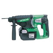Hitachi DH25DAL SDS Plus Hammer Drill 25.2 Volt 2 x 2.0Ah Li-Ion