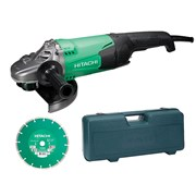 Hitachi G23ST Grinder With Diamond Blade & Case 2000 Watt