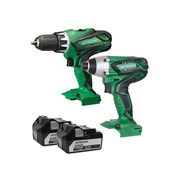 Hitachi KC18DGL Twin Pack 18 Volt 2 x 5.0Ah Li-Ion