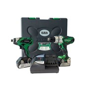 Hitachi KC18DKL Twin Pack 18 Volt 2 x 5.0Ah Li-Ion