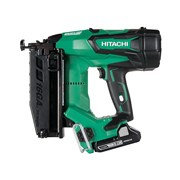 Hitachi Cordless 16G Straight Finish Nailer 18 Volt 2 x 3.0Ah Li-Ion