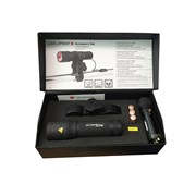 LED Lenser P7.2 Professional Torch With Pressure Switch & Gun Mount