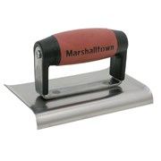 Marshalltown M136D Cement Edger Curved End Durasoft® Handle 6in x 3in