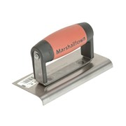 Marshalltown M36D Cement Edger Straight End Durasoft® Handle 6in x 3in