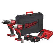 Milwaukee M18 BLPP2A2 Brushless Twin Pack 18V 2 x 5.0Ah Li-ion