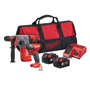 "Milwaukee M18 FPP2AC-502 FUELâ""¢ Twin Pack 18V 2 x 5.0Ah Li-ion"