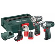 Metabo PowerMaxx Twin Pack 10.8 Volt 1 x 2.0Ah & 1 x 4.0Ah Li-Ion