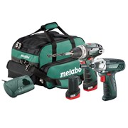 Metabo 2.3 Powermaxx Combo Set 10.8 Volt 2 x 2.0Ah Li-Ion