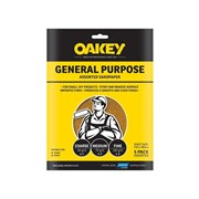 Oakey Glasspaper Sheets 230 x 280mm