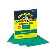 Oakey Multi Purpose Green Aluminium Oxide Sheets 230 x 280mm Assorted (4)