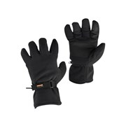 GL12 Black Thinsulate Fleece Gloves - Large (Size 9)