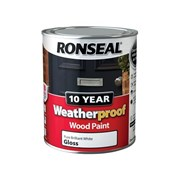 Ronseal Weatherproof 10 Year Exterior Wood Paint
