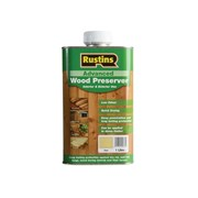 Rustins Advanced Wood Preserver Clear 1 Litre