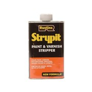 Rustins Strypit Paint & Varnish Stripper New Formulation