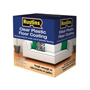 Rustins Clear Plastic Floor Coating Kits